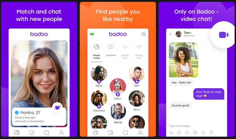 دانلود بادو ⭐ Badoo برنامه دوستیابی افراد نزدیک اندروید